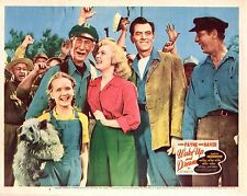 "John Payne June Haver Wake Up And Dream Original 11x14"" Lobby Card LC56"