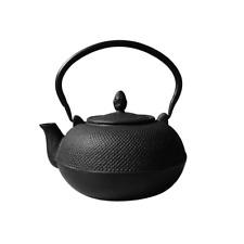 Old Dutch 3 L Hakone Matte Black Cast Iron Teapot Wood Stove Kettle Humidifier