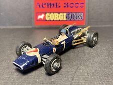1965-70 Corgi Toys - 156 COOPER MASERATI FORMULA 1 RACING CAR - Blue - NO BOX