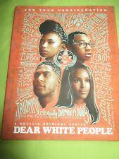 Dear White People 2018 NETFLIX DVD Original Comedy Series EMMY FYC SCREENER