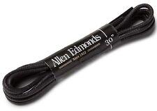 "Allen Edmonds BLACK Waxed DAWHYDE 30"" Replacement Dress SHOE LACES 4 5 6 Eyelets"