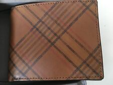Authentic Fossil Ames Bifold Wallet Genuine Leather New with Tag