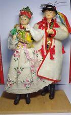 Dolls in a Polish (Krakow) folk costume. 1989.    Free shipping.
