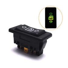 1x Ventana de Energía Eléctrica Coche Interruptor De Botón Con Accesorios De Luz Verde 6 Pin