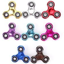 Hot Fidget Hand Tri Spinner Metal EDC Toy Stocking Stuffer Gift For Kids/Adults