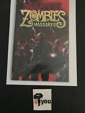 9.8 NM/MT MARVEL ZOMBIES DEAD DAYS # 1 LIM 999 EURO VARIANT SIGNATURE WP 2007