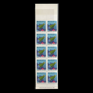 MARSHALL IS, Sc #173a, MNH, 1988, Booklet, complete, Lyretail wrasse, AR5IDD-C