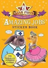 Los trabajos increíble libro de pegatinas: Star patas: un animal vestir libro de pegatinas-nuevo
