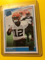🔥🔥2018 DONRUSS DENZEL WARD RATED ROOKIE RC base #348 Browns