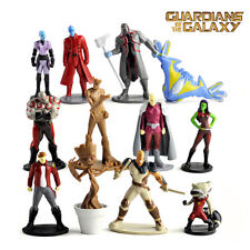 12 Guardians of the Galaxy Action Figures Doll Kid Playset Toy Cake Topper Decor