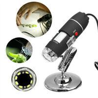 3in1 1600X Zoom HD 1080P USB Microscope Digital Magnifier Endoscope Video Camera