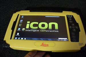 Leica Data Collector Model ICon CC60 Rugged Tablet Use with GPS Total Station