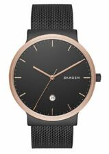 Skagen SKW6296 Men's Ancher Black Stainless Steel Watch