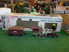 LIONEL TRAINS NO. 8004 ROCK ISLAND & PEORIA LOCOMOTIVE & TENDER 1980-82 - NICE