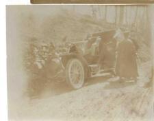 VERA FOTO AUTOMOBILE ANNO 1906 TOUR NICE ROMA, LANCIA ? FIAT ? ALFA ROMEO ? 2-3A