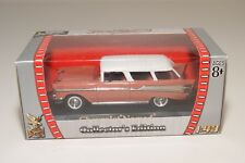 # ROAD SIGNATURE CHEVROLET NOMAD SALMON WITH WHITE MINT BOXED