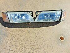 1998-99 Infiniti I30 Headlights w/ Restored Lenses & Turn Signal Lh & Rh Pair (Fits: Infiniti I30)