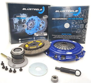 BLUSTEELE Heavy Duty Clutch Kit for Ford Falcon BA BF XR6 6cyl TURBO & SLAVE CYL