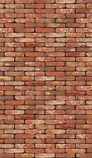 16 SHEETS EMBOSSED BUMPY BRICK paper stone wall 21x29cm  SCALE 1/24         a16