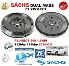 FOR PEUGEOT 508 1.6 HDi 112hp 115hp 2010-ON SACHS DMF DUAL MASS FLYWHEEL & BOLTS