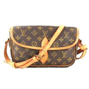 Auth LOUIS VUITTON Gibeciere PM M42248 Monogram AR0931 Shoulder Bag