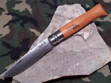 "Opinel Knife VRN12 No 12 # Beech Wood Folding Pocket 6 1/4"" High Carbon 13120"