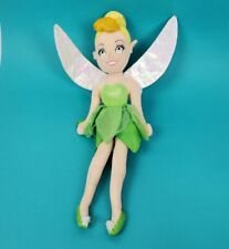 "Disney Tinkerbell Plush Fairy Stuffed Toy Doll 10"""