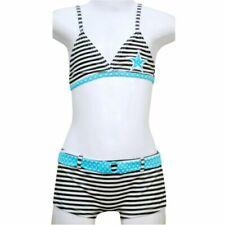 Maillots de bain bikini blancs pour fille de 2 à 16 ans