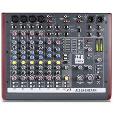 ALLEN & HEATH ZED 10FX mixer professionale studio live usb pc mac + effetti