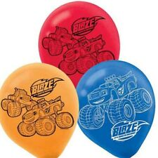 6pcs  Blaze and The Monster Machines 12'' Latex Party Balloons