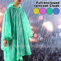 Women Men Raincoat EVA Poncho Outdoor Waterproof Long Rain Coat Poncho Jacket