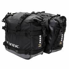 Tusk Pilot Pannier Bags Black/Grey Adventure Dual Sport KLR650 African Twin KTM
