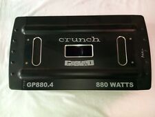 CRUNCH GROUNDPOUNDER MODEL: GP880.4 CAR AMPLIFIER | OLD SKOOL | RARE