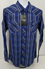 Sevens by Cinch Garth Brooks snap front western cowboy shirt.  Men's size MEDIUM