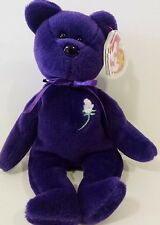 Ty Beanie Baby***PRINCESS (Diana) Bear RARE 1st EDITION! 1997 PVC Pellets! MINT!
