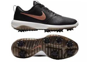 Nike Roshe G Tour Women Golf Shoes, Blk Metallic Red Bronze, AR5582-001 Size 8.5