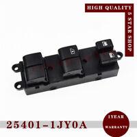 25401-1JY0A Power Window Master Control Switch for Nissan Tiida C11 SC11 C11Z