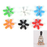 6x 3.5mm Toggle Switch Tip Caps for electric Guitar Random Color High Quality EF