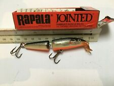 4 RAPALA LURES,  BOXED UNUSED inc COUNTDOWN, JOINTED and WOBBLER