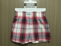 BNWT Baby Boys 3-6 Months Sz 00 Itty Bitty & Handsome Red/White Checked Shorts