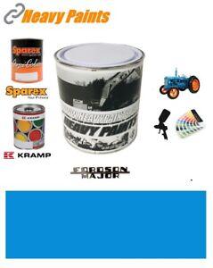 Fordson Major Tractor Empire Blue Enamel High Endurance Paint 1 Litre Tin