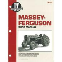 Shop Manual Fits 230 235 240 245 250 IT-MF-42 IT-MF-42-A ITMF42 MAR60-0007 MF-42