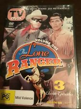 THE LONE RANGER Volume One 3 New Sealed DVDs R All