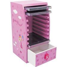 Custodia Porta CD in legno per bambine Beauty Principessa