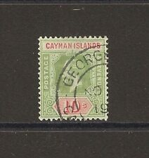 CAYMAN ISLANDS 1913 SG 52a USED Cat £190
