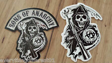 Sons Of Anarchy S.O.A. Logo &  Reaper Stickers Biker Samcro FX Channel
