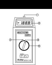 Hanna Instruments Minitherm Temperature moniture