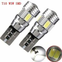 White Super Bright Wedge Bulb LED Lamp Car Light T10 W5W 5630 SMD HID