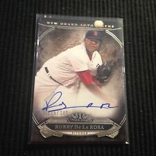 2015 TOPPS TIER ONE RUBBY DE LA ROSA *NEW GUARD AUTO #136/349*  BOSTON RED SOX