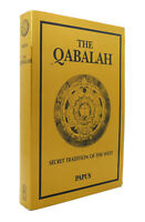 Papus THE QABALAH SECRET TRADITION OF THE WEST  1st Edition Thus 1st Printing